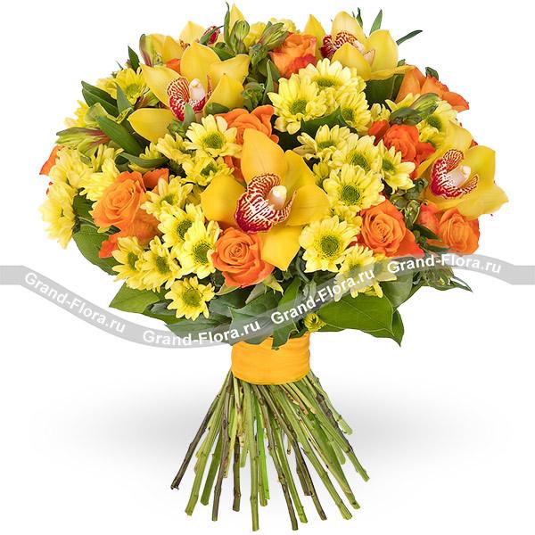Букет из 7 орхидей цена пионов цена